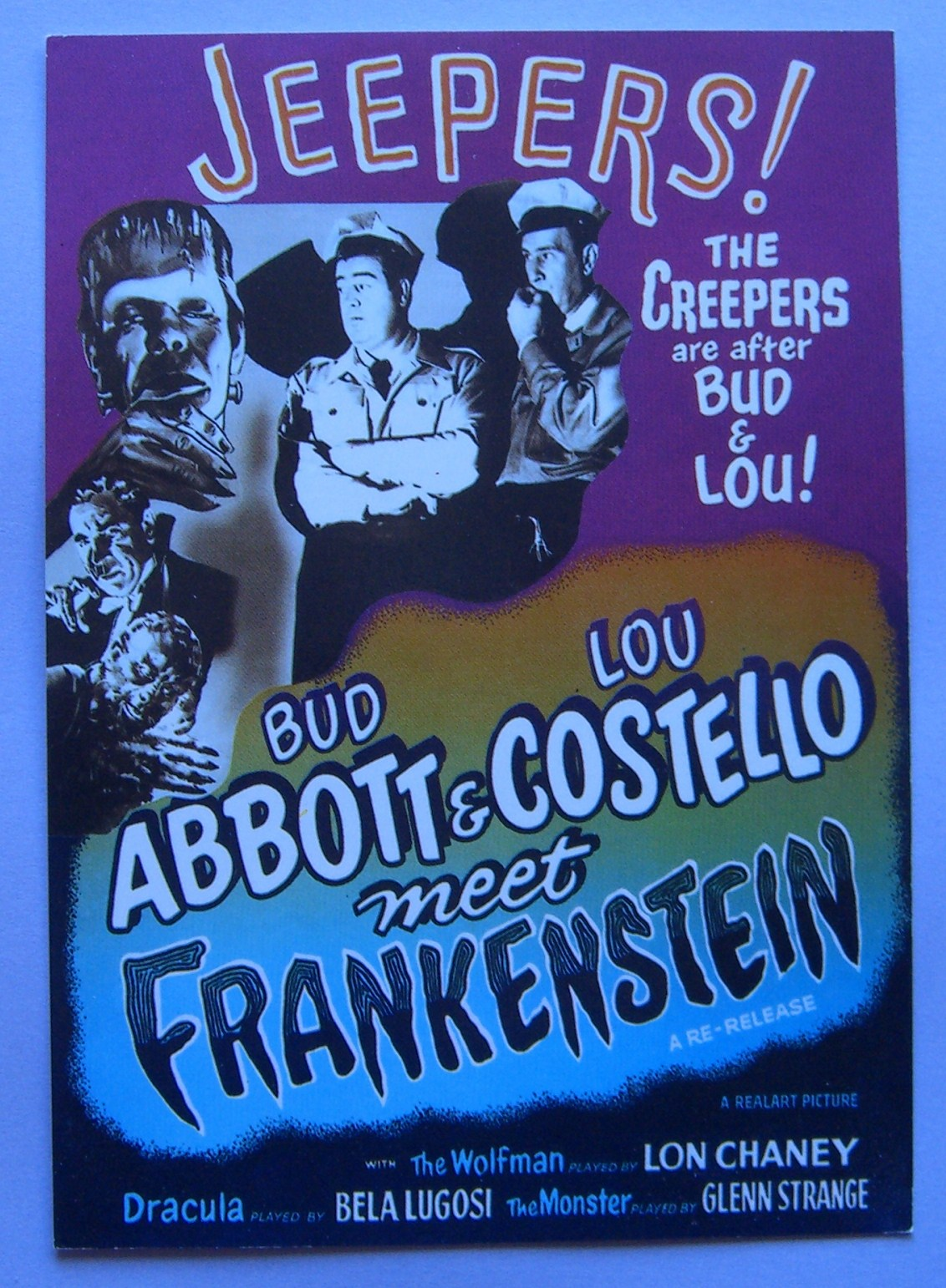 abbott costello meet frankenstein soundtrack