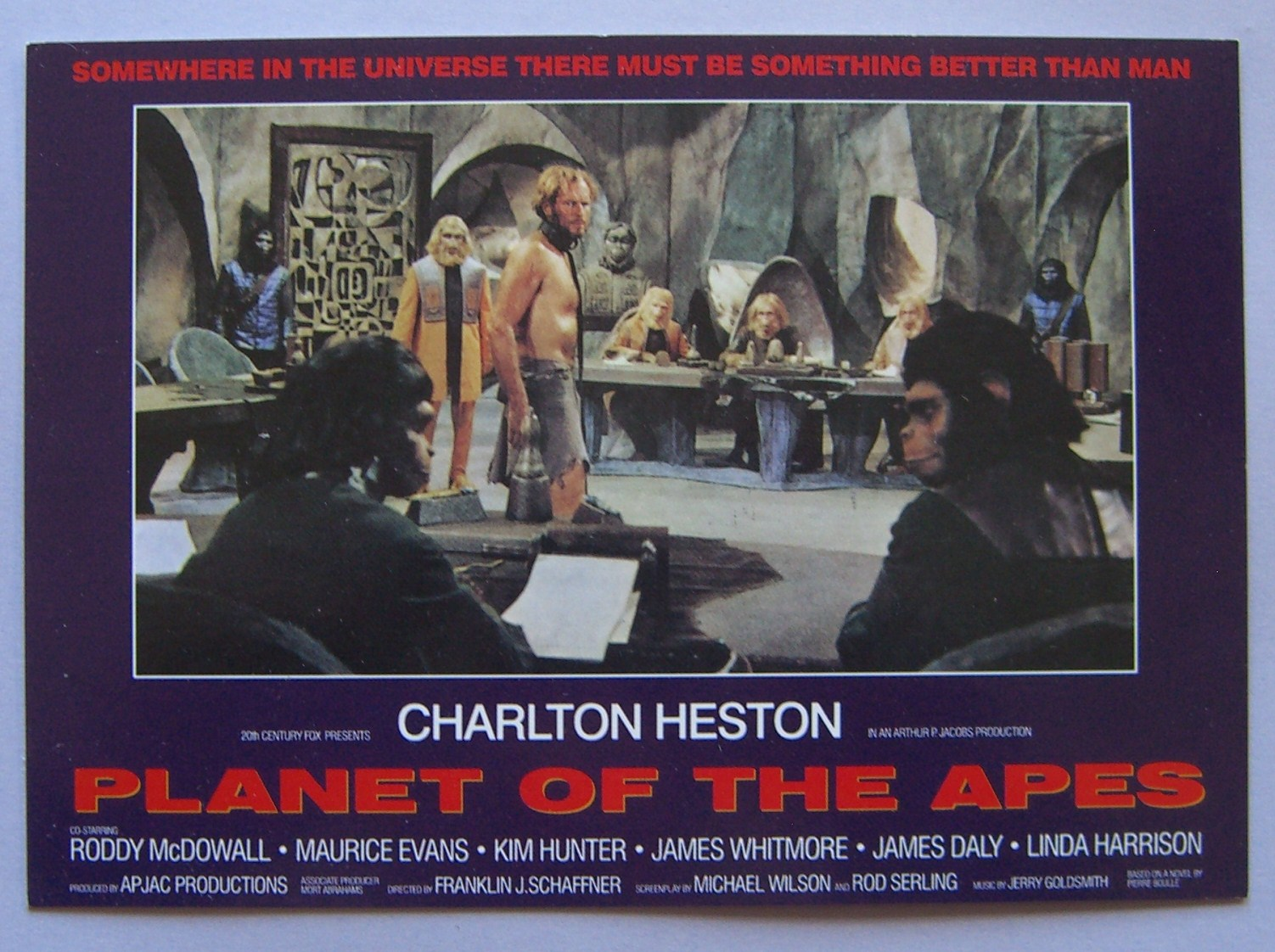 a comparison of the planet of the apes by jerry goldsmith and the planet of the apes by danny elfman Planet of the apes expanded original motion picture soundtrack - danny elfman your browser does not support this audio disc 1 the film score 1 jerry goldsmith memories of me original motion picture soundtrack.
