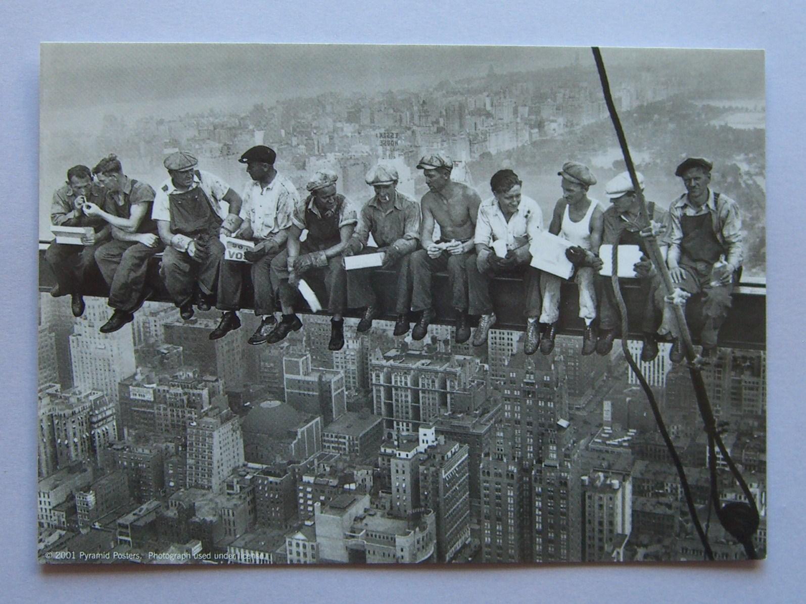 Lunch On A Skyscraper